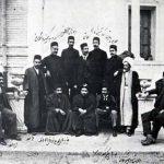 ارباب کیخسرو به همراه جمعی از نمایندگان مجلس