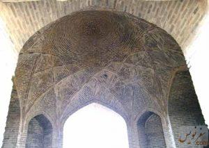 طاق هشتی کاروانسرای شاه عباسی ورده