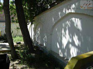دیواره های پمپ بنزین 15 خرداد - قدیمی ترین عمارت پمپ بنزین ایران
