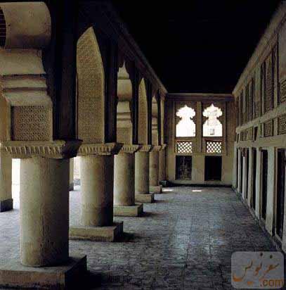 ایوان مسجد ملک بن عباس