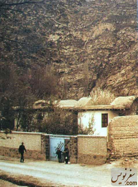 خانه میرزابزرگ نوری (بیت اله) قبل از تخریب