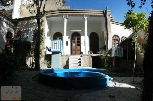 شاه نشین خانه رضا خان پهلوی