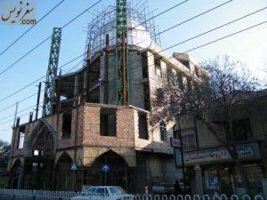 مسجد سلمان و داروخانه سلمان در سال 91