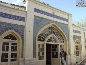 ایوان اصلی مسجد سلمان