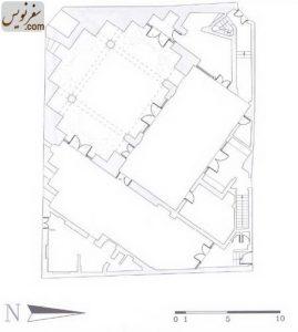 پلان و نقشه مسجد سلمان
