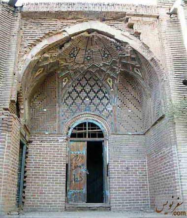 یکی از حجره های کاروانسرای سعدالسلطنه (سرای سعادت)