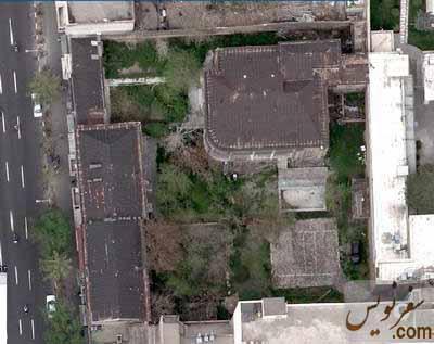 تصویر هوایی خانه عامری ها قبل از تخریب