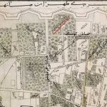 نقشه عبدالغفار و موقعیت خانه عامری ها