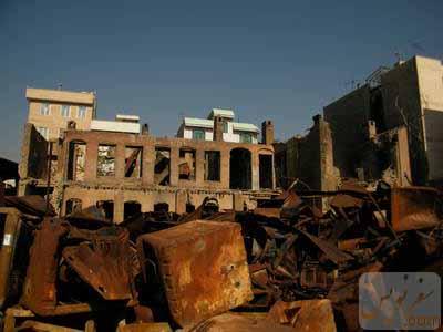 عمارت مدرسه نور صداقت - انبار عاج