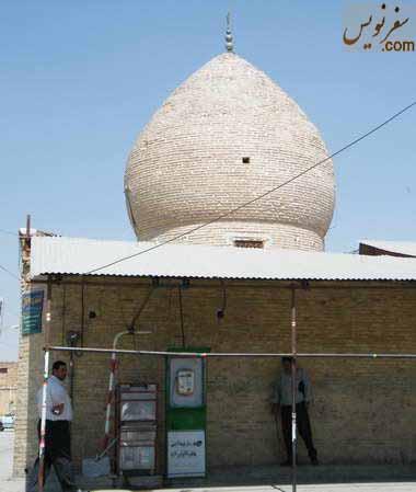 نمای شرقی سقاخانه حضرت ابوالفضل (سقاخانه ارباب میرزا)
