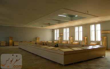 سالن و تالار اصلی موزه آبادان