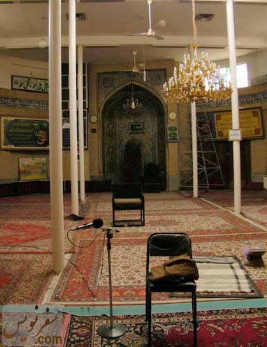 شبستان شرقی مسجد حاج ابوالفتح