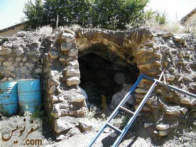 اتاقکهای سنگی در جنوب کیجا پل (پل ولاشید)