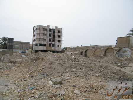 تخریب کاروانسرای ملک برای ساخت مجتمع مسکونی