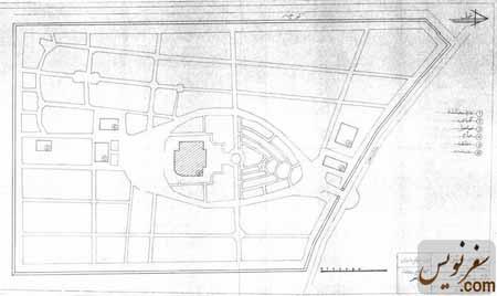 نقشه و پلان باغ موزه رامسر