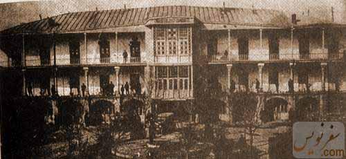 گراند هتل قزوین در سال 1312