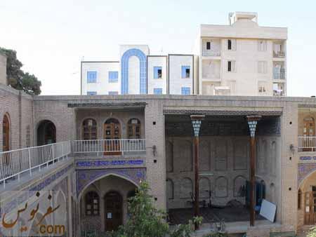 احداث ساختمانهای بلند مرتبه در شمال مسجد قنبر علی خان