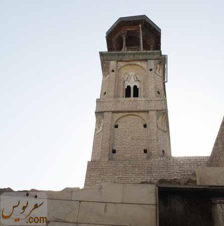 تخریب در پایه مناره منحصر به فرد قنبر علی خان