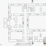 نقشه و پلان زیرزمین خانه مشیرالدوله پیرنیا