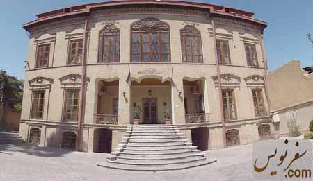 ورودی خانه مشیرالدوله پیرنیا از جنوب