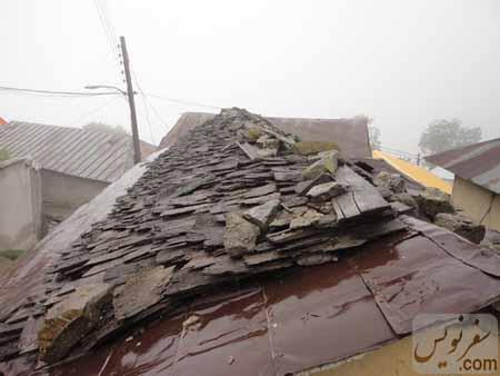 سقفهای چوبی اولین بافت ثبت شده استان مازندران