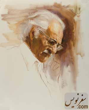 علی اکبر صنعتی ، نقاش مرتضی کاتوزیان