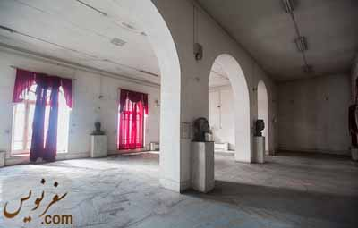 ساختمان خالی موزه در آبان 1392