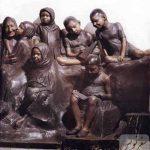 عائله مرد بیکار، گچ فرنگی، موزه صنعتی 13 آبان