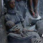 زن بینوا، گچ فرنگی، موزه صنعتی 13 آبان