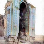 ایوان مسجد جامع کبود، موزه صنعتی 13 آبان