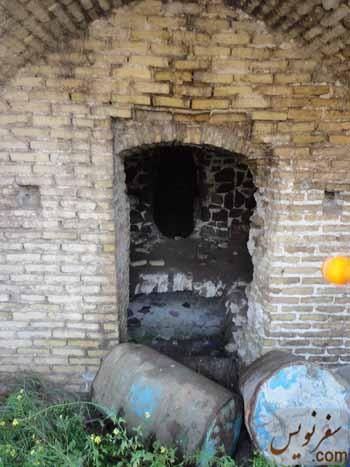 نگهداری بنزین و گازوئیل در کاروانسرای گدوک