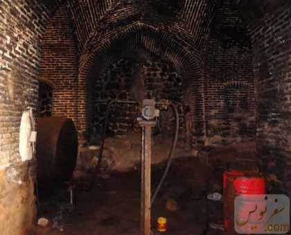 نگهداری گازوئیل و نمک در کاروانسرای گدوک