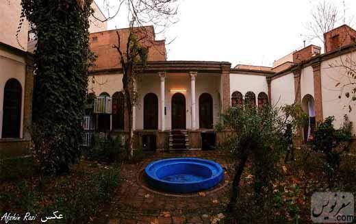 خانه رضا سوادکوهی در تهران