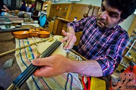 کارگاه ساخت آلات و ادوات موسیقی