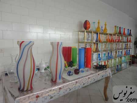 نمایشگاه کارگاه بلور سنتی