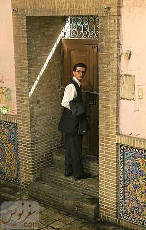 عکسی از فیلمی درباره خانه صادق هدایت