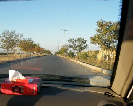 جاده ورزشگاه ثامن، باغمزار ویرانی سمت راست این جاده است