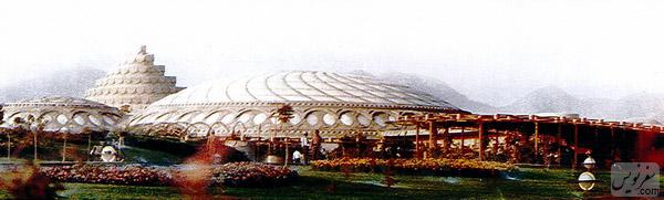 کاخ مروارید (شمس پهلوی) شاهکار معماری بنیاد فرانک لوید رایت