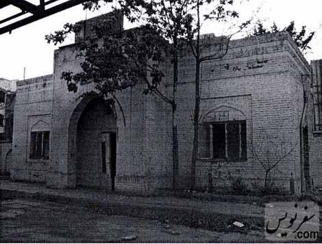 پمپ بنزین دروازه دولت در سال 1388