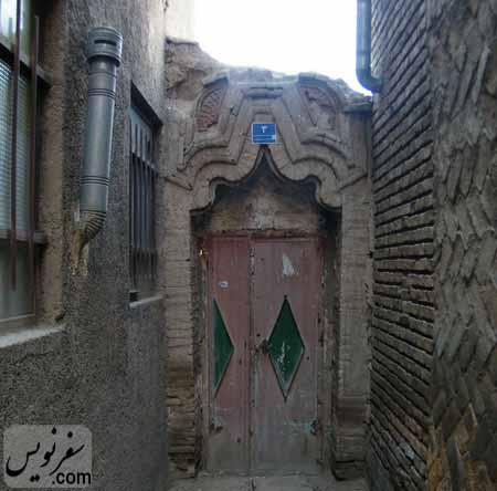 درب خانه شیخ فضل الله نوری
