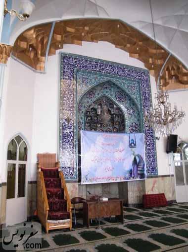 محراب مسجد شیخ فضل الله نوری (میرزا یونس خان)