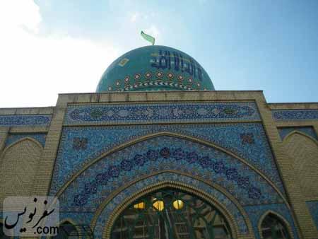 جداره شمالی مسجد شیخ فضل الله نوری (میرزا یونس خان)