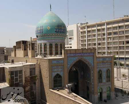 بادگیرهای مسجد شیخ فضل الله نوری (میرزا یونس خان)