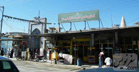 خیابان امام خمینی و آرامگاه دانیال نبی