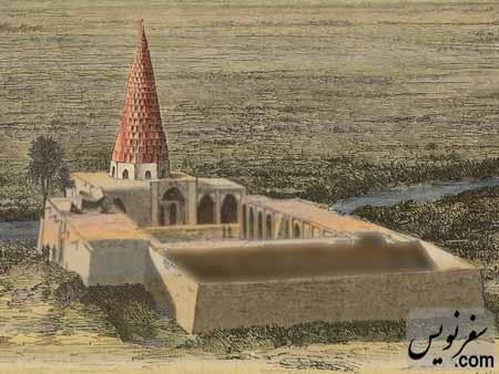 آرامگاه دانیال نبی در قرن 15 م، نقاش نامعلوم