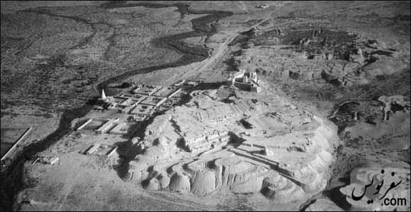 آرامگاه دانیال نبی، قلعه و شهر شوش، عکس هوایی
