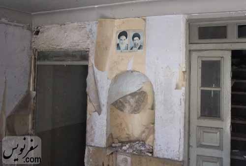 طبقه همکف خانه معین التجار بوشهری