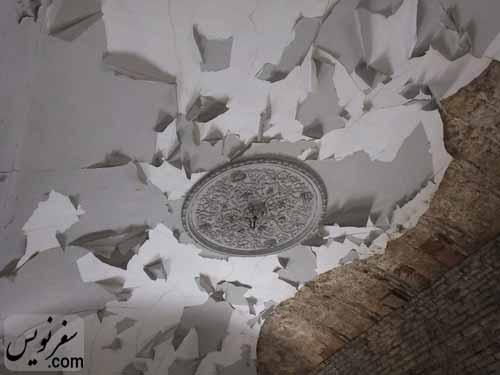 سقف اتاق ضربی خانه معین التجار بوشهری