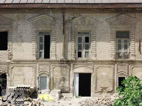 نمای بیرونی خانه معین التجار بوشهری
