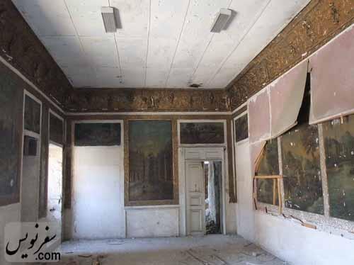 اتاق نقاشی خانه معین التجار بوشهری